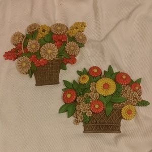 Vintage Flower Power Wall Decor
